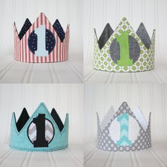 Custom First Birthday or Kids Crowns For by ShutterbugPhotoProp, $28.99