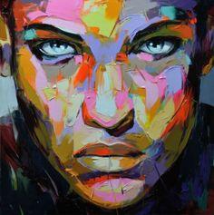 Newest-Pop-Art-Oil-Painting.jpg by sally tb Art And Illustration, Arte Pop, Abstract Portrait, Portrait Art, Portraits, Color Portrait, Tableau Pop Art, Art Visage, Fine Art