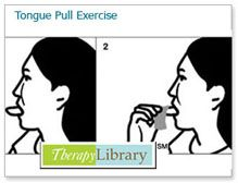 Tongue Pull Exercise