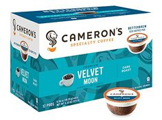 Camerons Specialty Coffee Velvet Moon Espresso Roast 72 Count Single Serve * This is an Amazon Associate's Pin. Find out more about the great product at the image link.