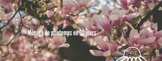 Nouvel article sur le blog 📝Ménage de printemps en 30 jours 🌼 Nyxie blogueuse rennaise 🚎