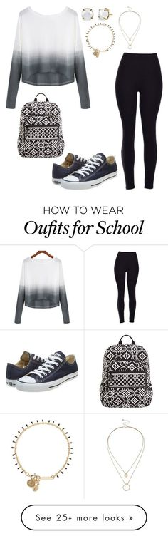 School day:Wednesday by sweet-brownsuga on Polyvore featuring Converse, Sole Society, Isabel Marant, Vera Bradley, womens clothing, women, female, woman, misses and juniors