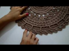Mandala Rug, Crochet Mandala, Crochet Doilies, Crochet Teddy, Doily Patterns, Needlework, Crochet Necklace, Crafts, Cardigans