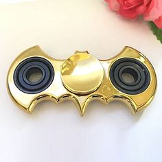 Buyable Pin Small Portable Metal Batman Hand Spinner Fidget Toy For Killing Time Relieves Stress