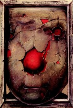Stasys Eidrigevicius, film poster for Nostalghia Illustrations, Book Illustration, Fine Arts College, Vintage Poster, Love Design, Artist At Work, Street Art, Abstract, Lithuania