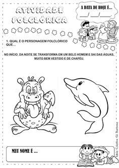 Projeto Folclore Álbum com Atividades Educação Infantil                                                                                                                                                      Mais