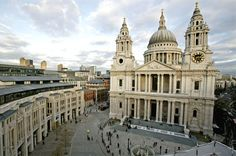St. Paul's Cathedral, in London.