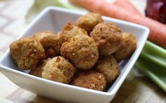 Thanksgiving stuffing hushpuppies - paleo!