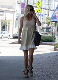 Sienna Miller. The shoes