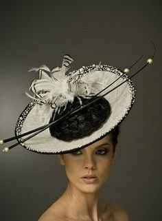 1424b76bcbc Racing Hats and Couture Millinery