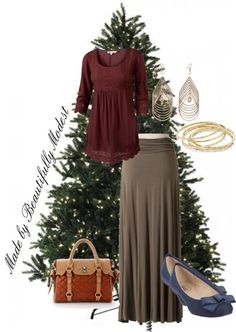 """""""Christmas Outfit"""" by spf13 ❤ liked on Polyvore"""