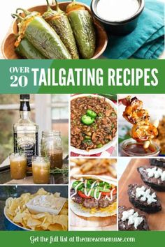 It's time for football, and that means tailgating! And of course, that means great food and drinks! If you're hosting the tailgate party, you'll love these great tips to make sure that everything runs smoothly. We've also collected over 20 recipes that ar