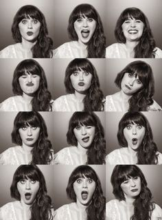 {Zooey Deschanel makes me giggle}