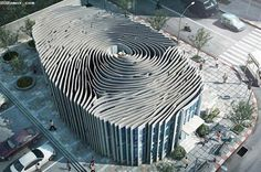 Amazing fingerprint building in Thailand