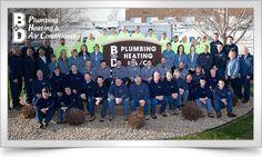 Plumbing heating cooling company