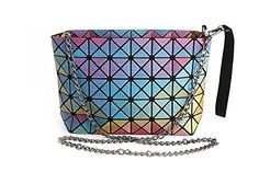 Procida Women Handbags Purse Shoulder Crossbody TPU Bag with Shiny Multi-colors Design for Girls and Ladies Best Makeup Brushes, Makeup Brush Set, Best Makeup Products, Best Foundation Makeup, Makeup Kit Essentials, Best Teeth Whitening Kit, Cat Eye Makeup, Gorgeous Makeup, Cosmetic Bag