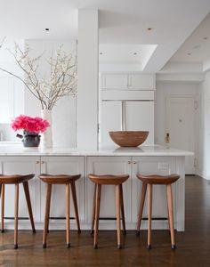 restoration-hardware-bar-stools-Kitchen-Transitional-with-black ...