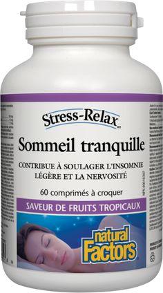Sommeil tranquille (saveur de fruits tropicaux)