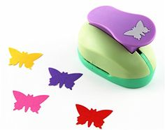CADY Crafts Punch 2-Inch paper punches Craft Punches Butterfly - 3 -- You can find more details by visiting the image link.