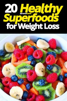 This list of natural healthy superfoods are some of best foods you can eat for weight loss Im sure youve heard time and time again that shedding as many calories as you p. Paleo Diet Plan, Easy Diet Plan, Diet Plans, Eating Plans, Nutritious Meals, Healthy Snacks, Healthy Eating, Healthy Snack Recipes For Weightloss, Healthy Recipes