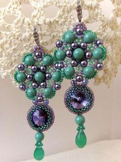 Inspiration - Newsletter, Bead-Patterns.com: Beautiful Embroidered Jewelry by Irina Chikineva