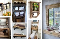25 Pallet Project Ideas To Add Some Rustic Splendor To Your Bathroom