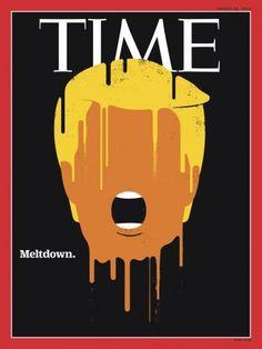 """Funktioniert auch ohne viele Worte: Das Trump-Cover der """"Time"""""""