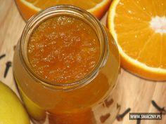 Dżem z dyni i pomarańczy Chutney, Preserves, Cantaloupe, Salsa, Food And Drink, Menu, Gluten Free, Homemade, Diet