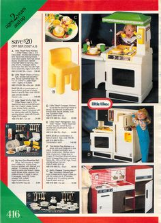 Little Tykes party kitchen.When I was little the Kitchen Set at the top was my favorite kitchen of all time! Daughters, To My Daughter, Little Tykes, Dupont, Vintage Fisher Price, Time Warp, Christmas Catalogs, 90s Nostalgia, Oldies But Goodies