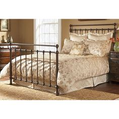 I really want a new wrought iron bed. (Fashion Bed Group Langley Metal Bed).  $540 for the king (free delivery).