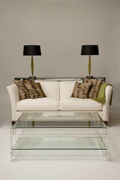 Bespoke perspex furniture by Carew Jones