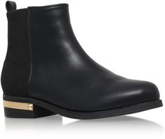 0dbed8dd30a1 tristan black low heel ankle boots from Carvela Kurt Geiger. accidentally  vegan too.