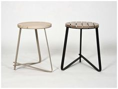 Slat Stool by Dokter & Misses Vintage Industrial, Industrial Design, Bespoke Furniture, Furniture Design, South African Design, African Interior, Interior Decorating, Decorating Ideas, Stool Chair