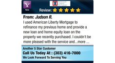 I used American Liberty Mortgage to refinance my previous home and provide a new loan and...