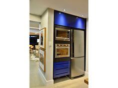 Cozinha Planejada - azul | Campelo - Clique Arquitetura