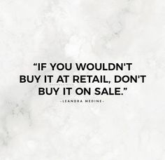 Shopping tips and ad