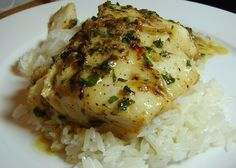 Cod in Creamy al Ajillo Sauce    http://www.hispanickitchen.com/profiles/blogs/cod-in-creamy-al-ajillo-sauce