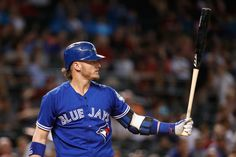 Josh Donaldson Photos - Josh Donaldson #20 of the Toronto Blue Jays bats against the Arizona Diamondbacks during the interleague MLB game at Chase Field on August 20, 2016 in Phoenix, Arizona. - Toronto Blue Jays v Arizona Diamondbacks