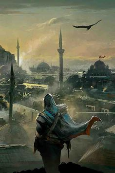 master and mentor Ezio Auditore da Firenze in İstanbul