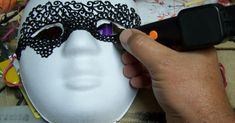 3D pen Halloween or Mardi Gras mask As I have said before the only real disadvantage of the 3-D pen is its precision, but it make...