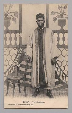 Senegal, Dakar | Possibly Jean Benyoumoff |  1900-1920