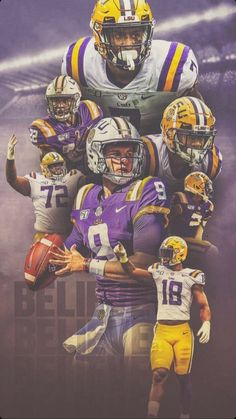 Lsu Tigers Football, Sec Football, Kansas City Chiefs Football, Football Art, Football Uniforms, Football Things, Death Valley Lsu, Fight Tiger, Michael Jordan Pictures