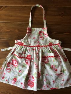 A personal favourite from my Etsy shop https://www.etsy.com/uk/listing/548010018/girls-apron-age-3-4-cath-kidston-fabric