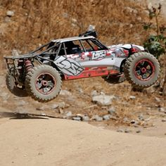 The Competition Class RC Dune Buggy - a gas powered remote control dune buggy capable of driving at speed of up to 40mph