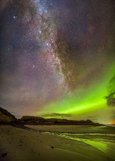 The Northern Lights captured by Maciej Winiarczyk in Caithness. Picture: Hemedia/Maciej Winiarczyk