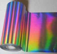Patternity_RolledRainbowSeamless-Silver-Rainbow-Foil — Patternity
