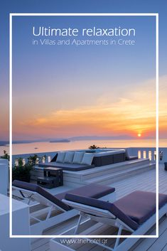 Find a lovely apartment to relax and enjoy sunsets with amazing views of the town! #crete #greece #chania #summer #vacations #holiday #travel #sea #sun #sand #nature #landscape #island #TheHotelgr #nature #view  #holidays #travelling #instatravel #pool #pinterest #villa #urlaub #ferien #reisen #meerblick #aussicht #sommer #thehotelgr