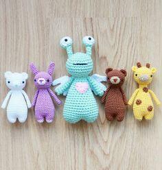 Crochet patterns by Little Bear Crochets: www.littlebearcrochets.com ❤️ #littlebearcrochets #amigurumilove