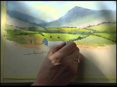 ▶ Pastel Demonstration by Jenny Keal, Summer of Great Events at Erwood Station. - YouTube