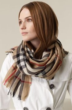Before I die I want to... Own a Burberry Scarf
